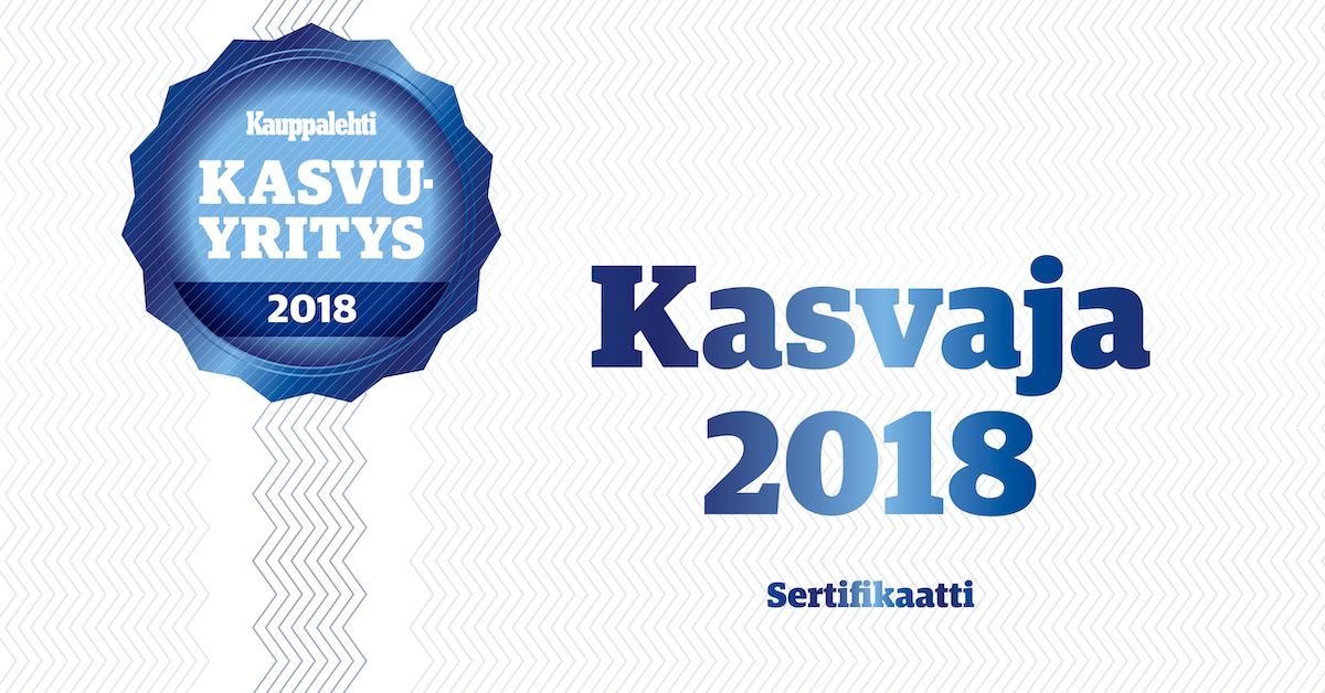 Terästyö JK & JK Oy on Kauppalehden Kasvaja